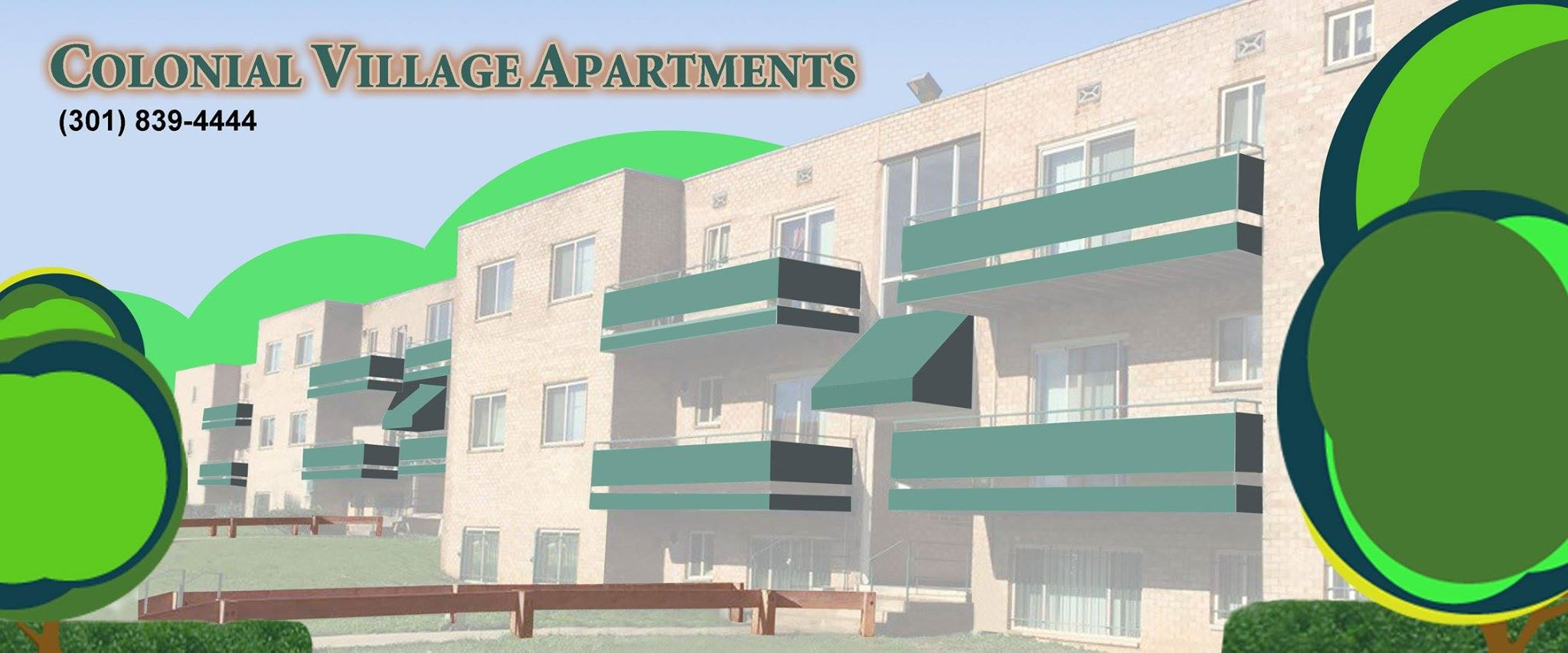 Colonial Village Apartments, Call (301) 277-7050 & (301) 779-6065